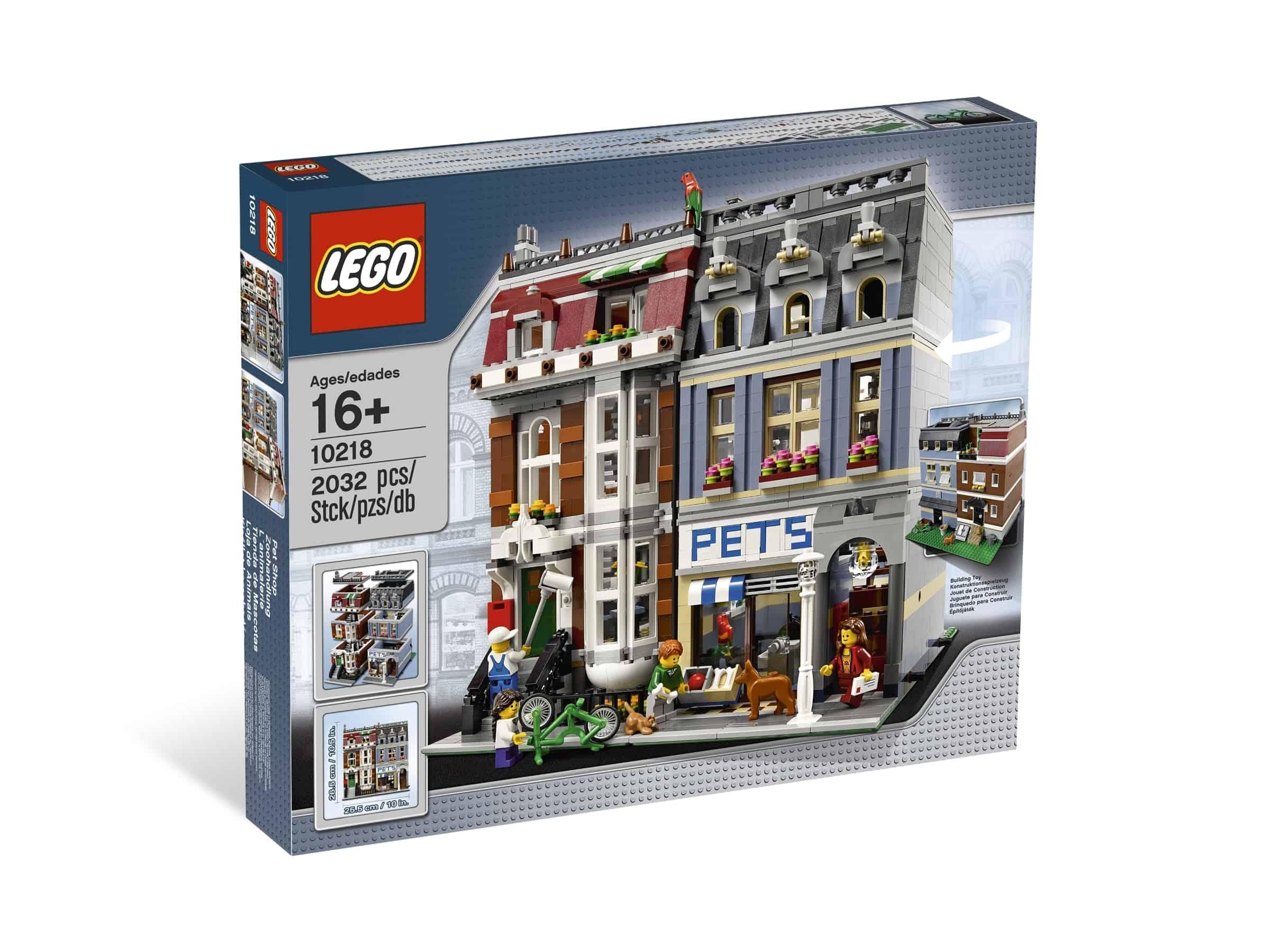 lego 10218 dyrebutikk