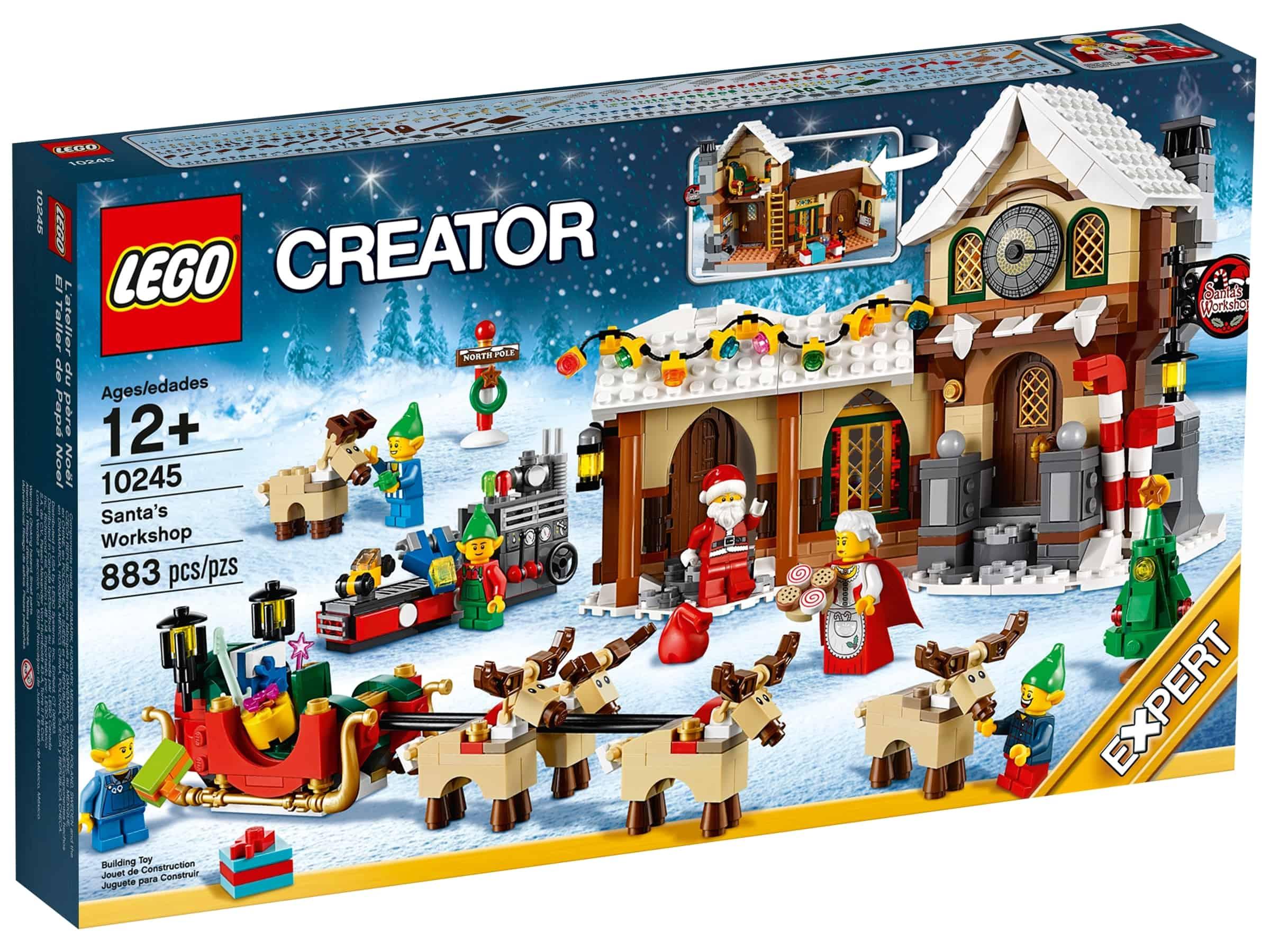 lego 10245 julenissens verksted