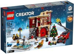 lego 10263 vinterlandsbyens brannstasjon
