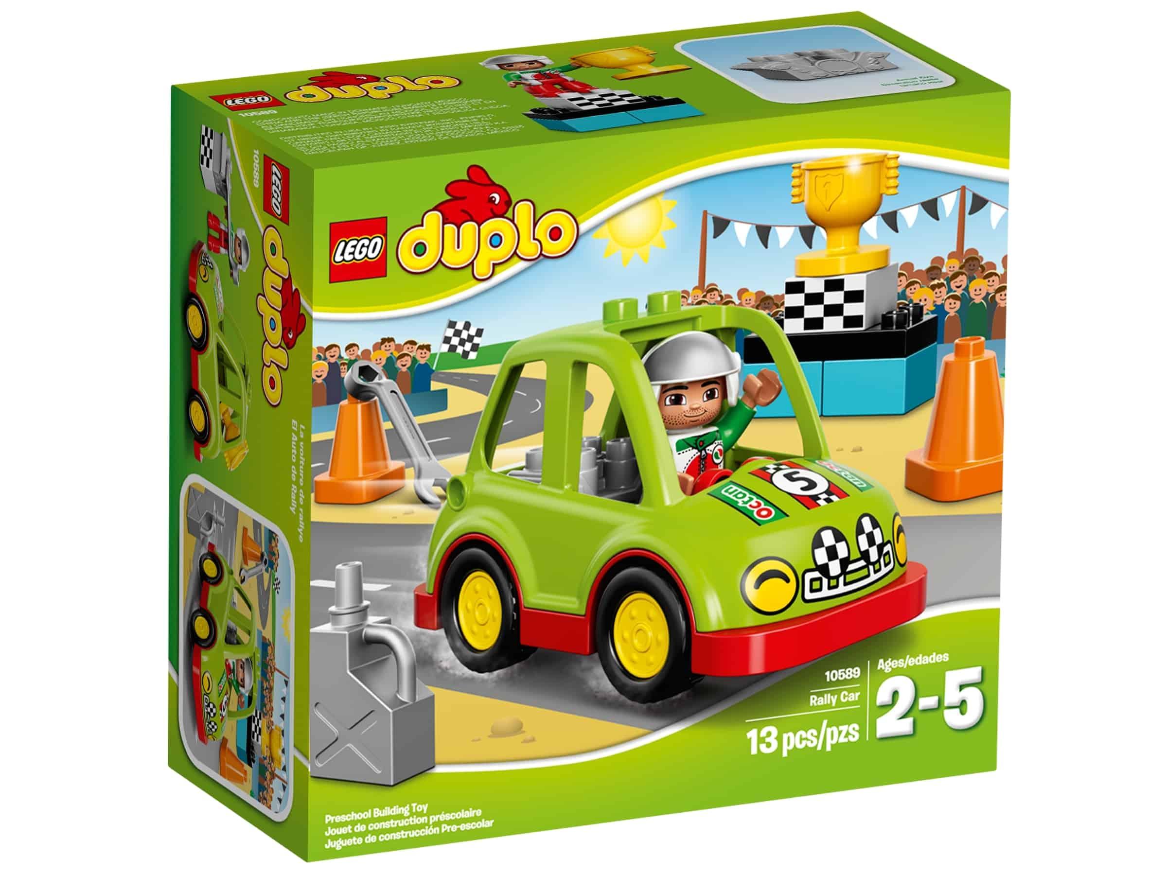 lego 10589 rallybil