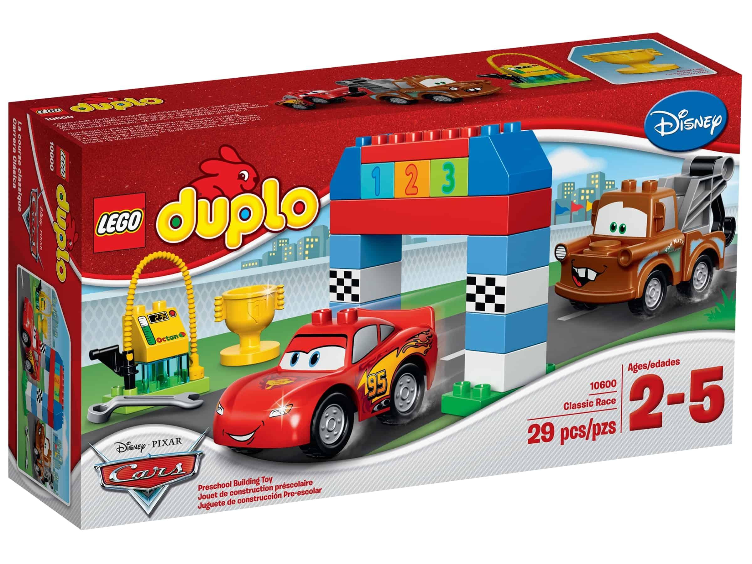 lego 10600 disney pixar cars klassisk billop