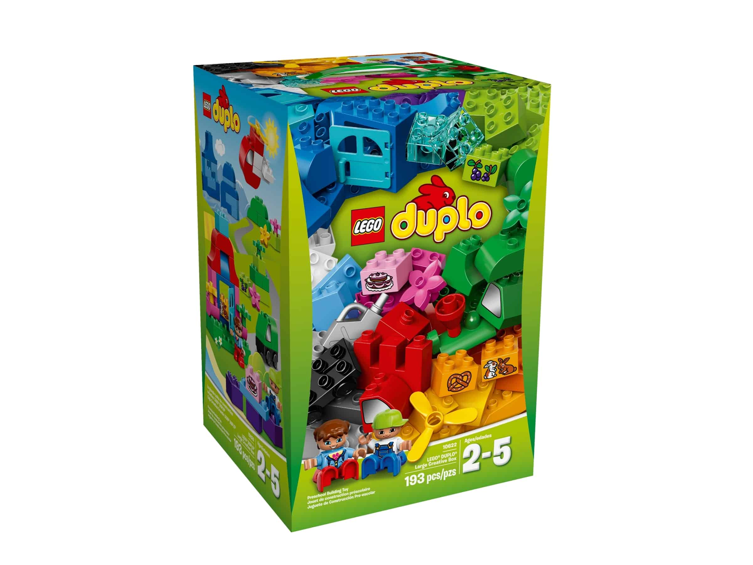 lego 10622 duplo 10622 stor kreativ boks
