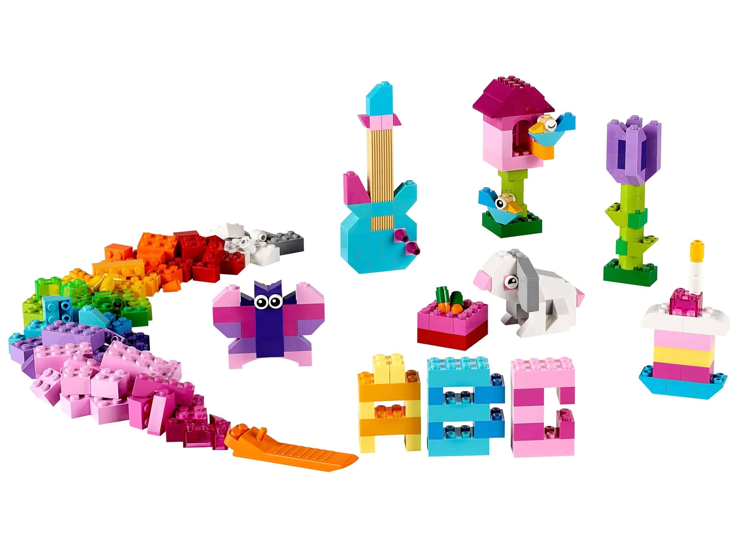 lego 10694 kreativt tilbehor lyse farger