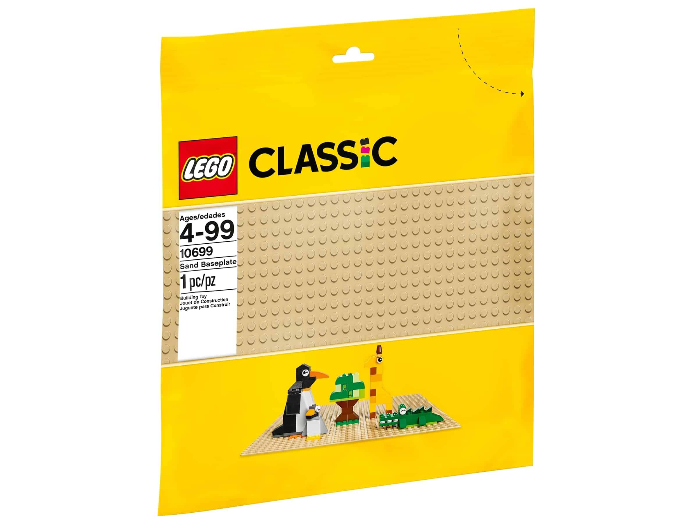 lego 10699 sandfarget basisplate