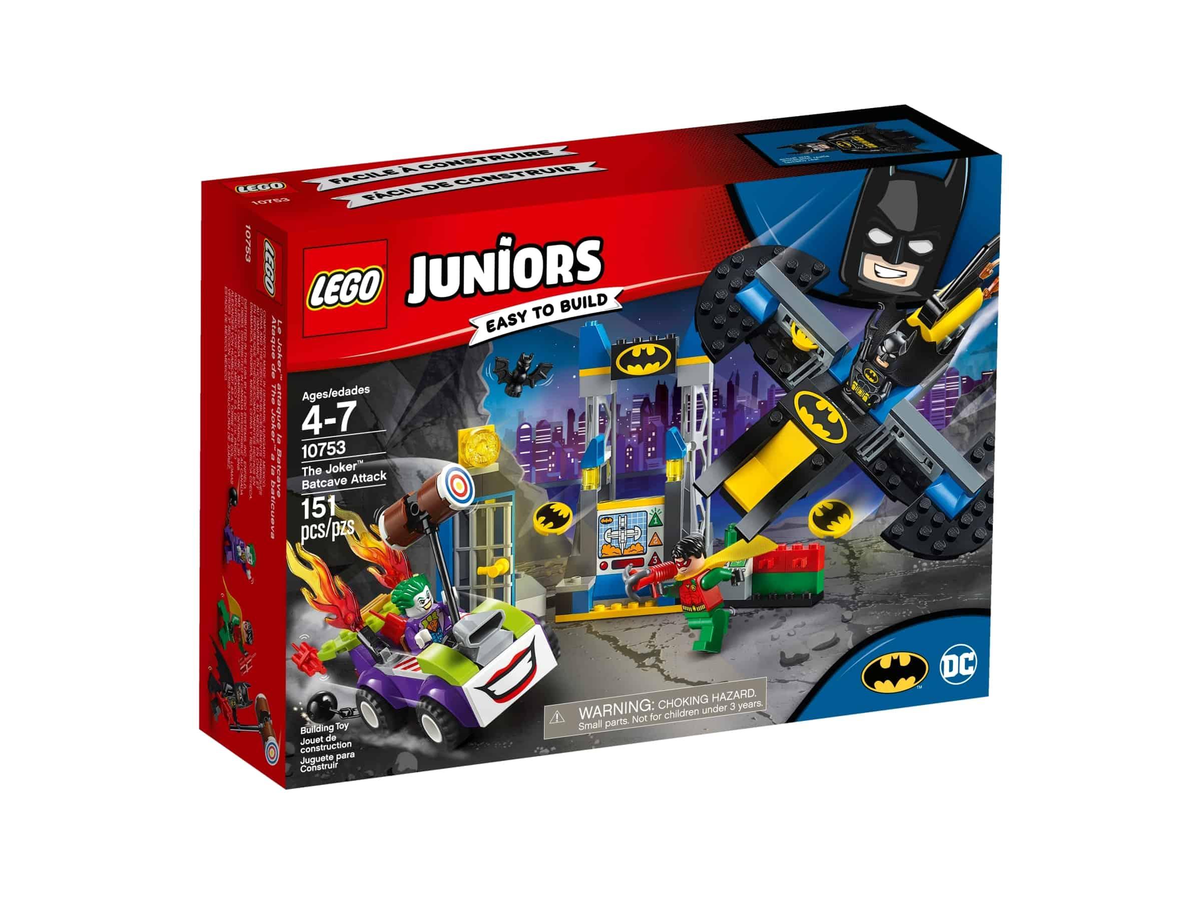 lego 10753 jokeren angriper batcave