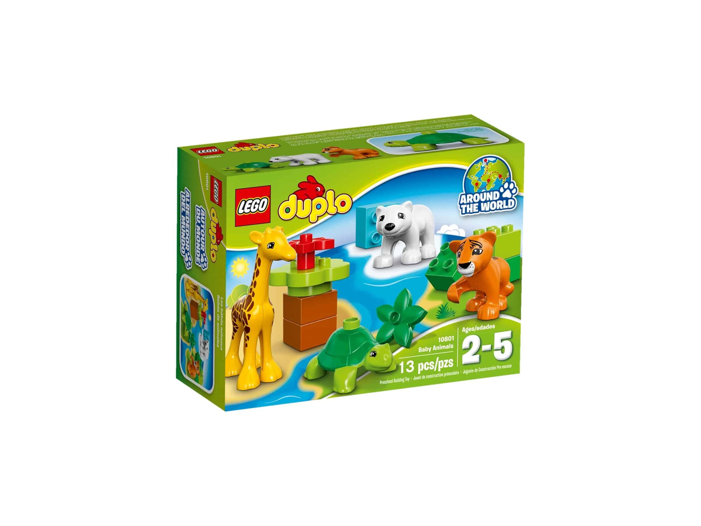 lego 10801 dyreunger