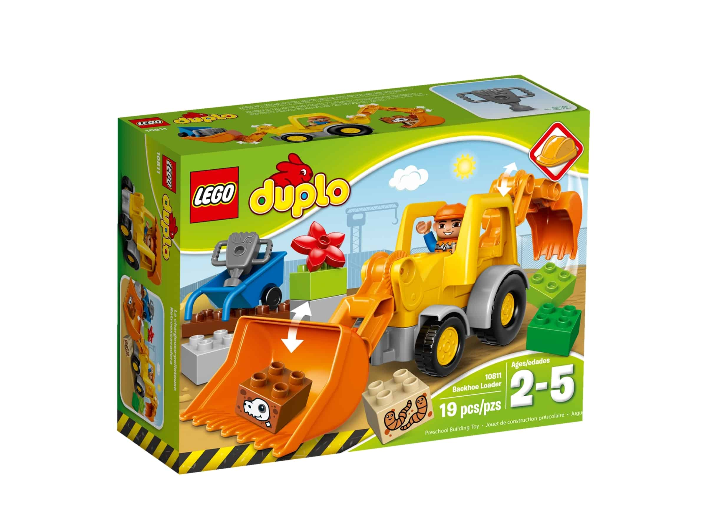lego 10811 traktorgraver