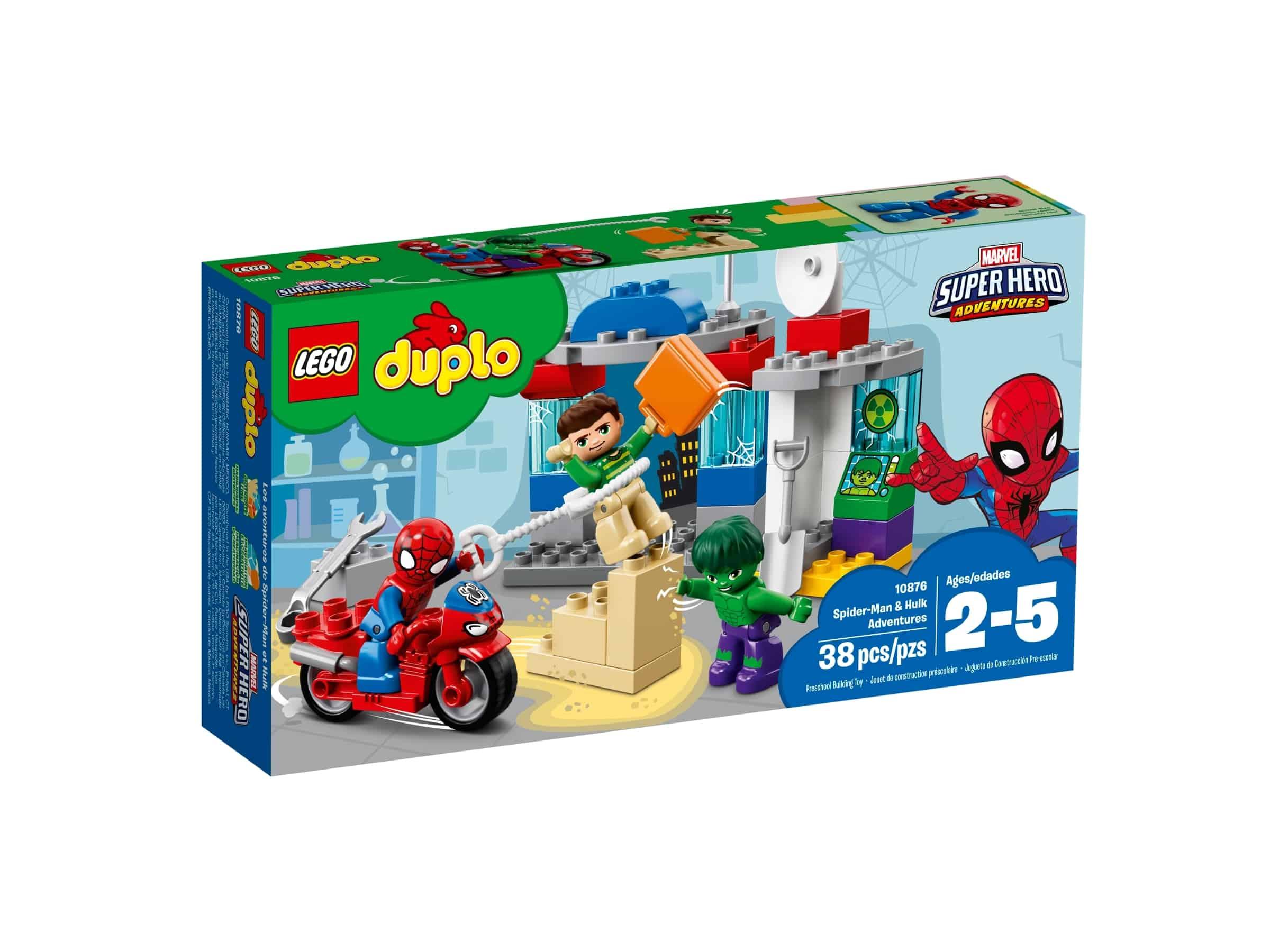 lego 10876 eventyr med spider man og hulk