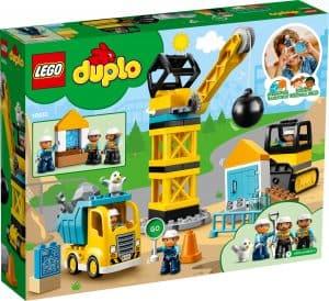 lego 10932 byggearbeid med rivningskule