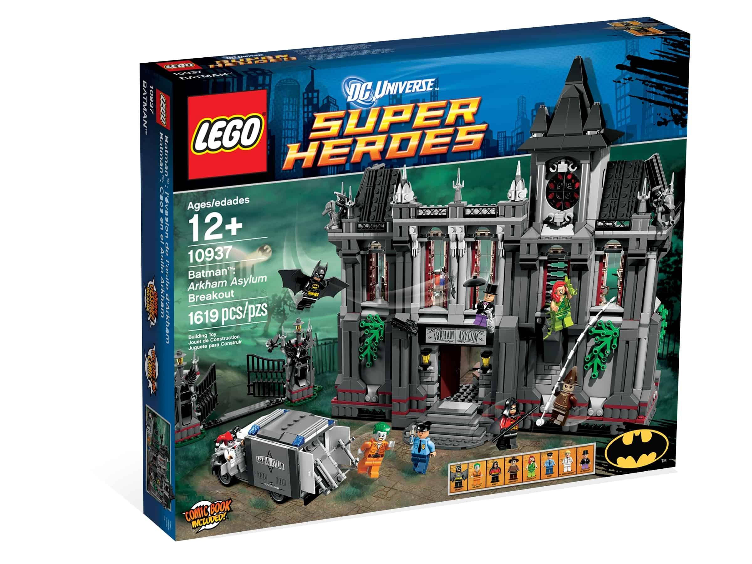 lego 10937 batman flukten fra arkham asylum