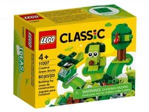 lego 11007 gronne kreativitetsklosser