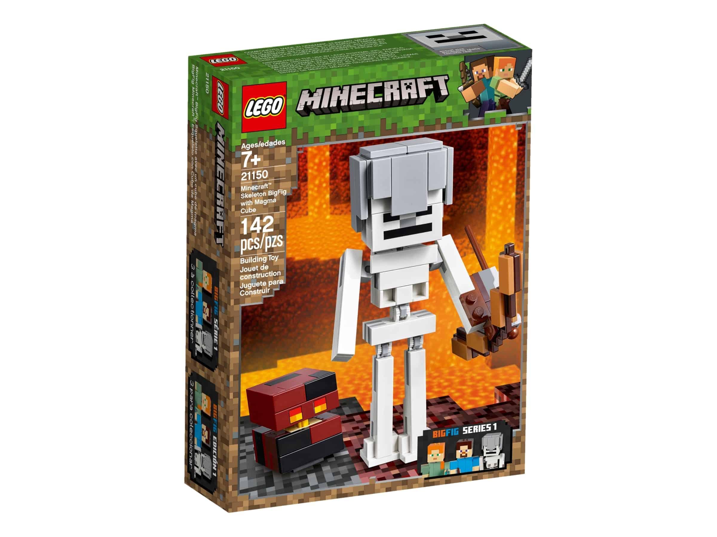 lego 21150 skjelett bigfig med magmakube
