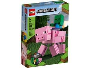lego 21157 bigfig gris med zombieunge