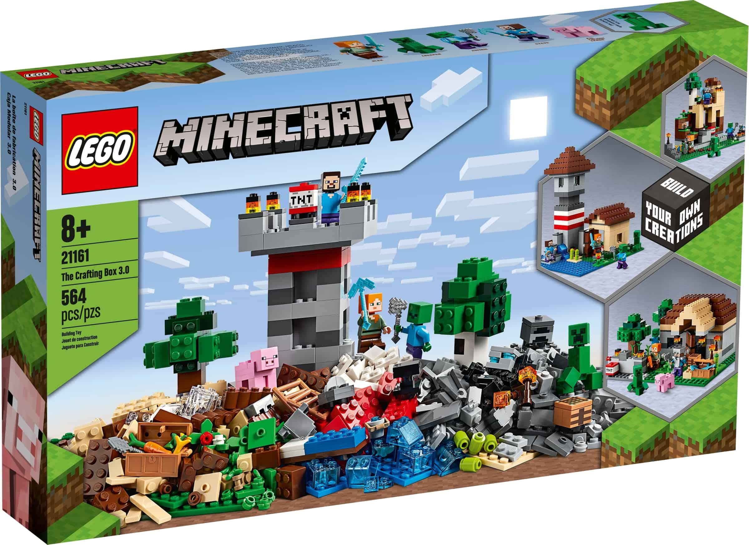 lego 21161 konstruksjonsboks 3 0