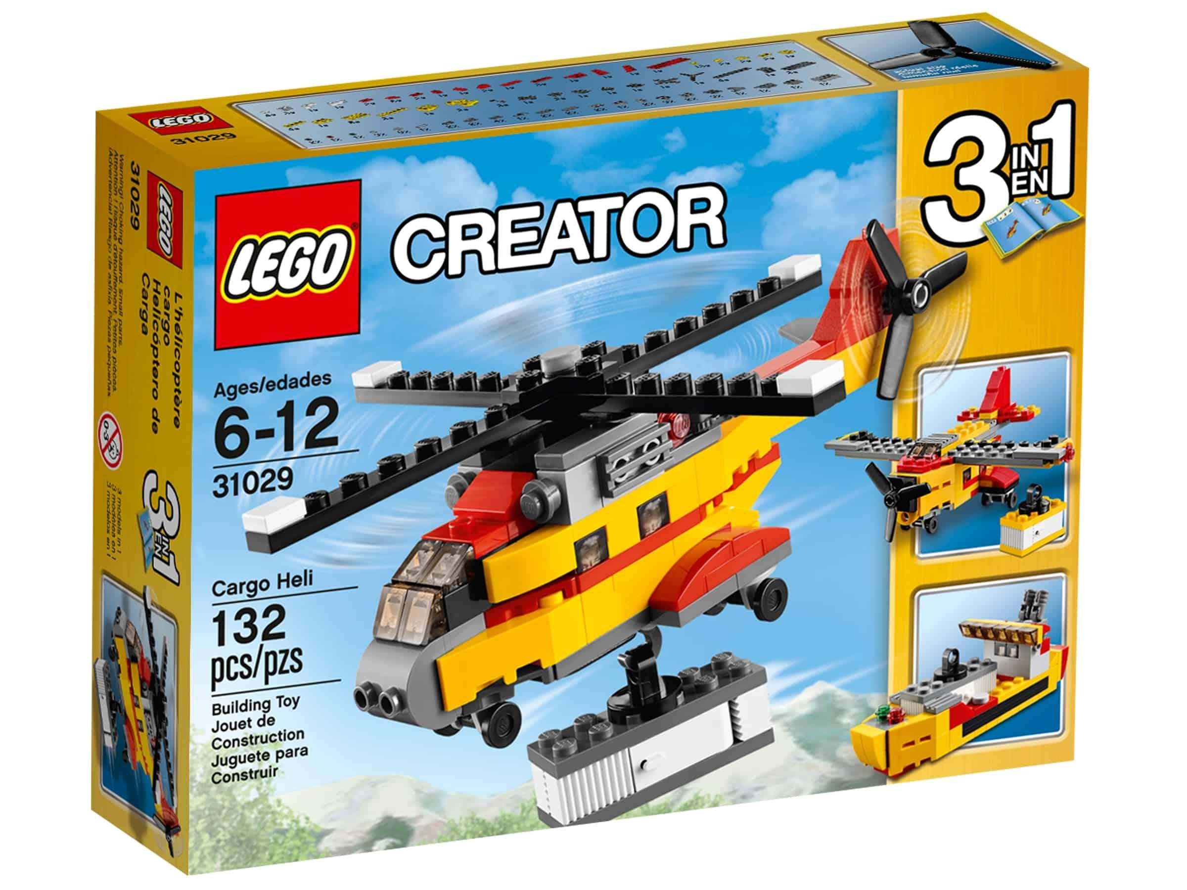 lego 31029 transporthelikopter