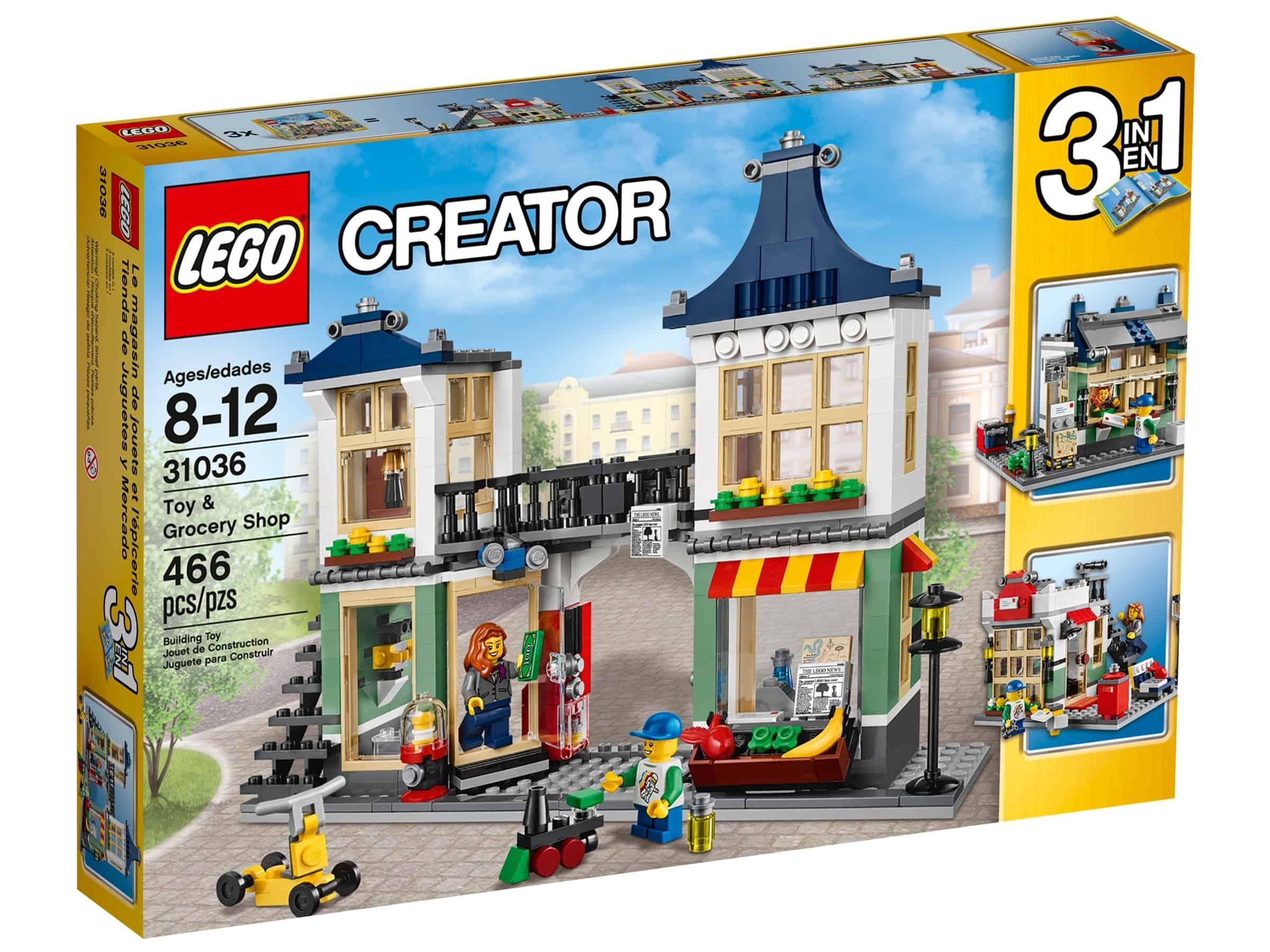 lego 31036 leke og matbutikk
