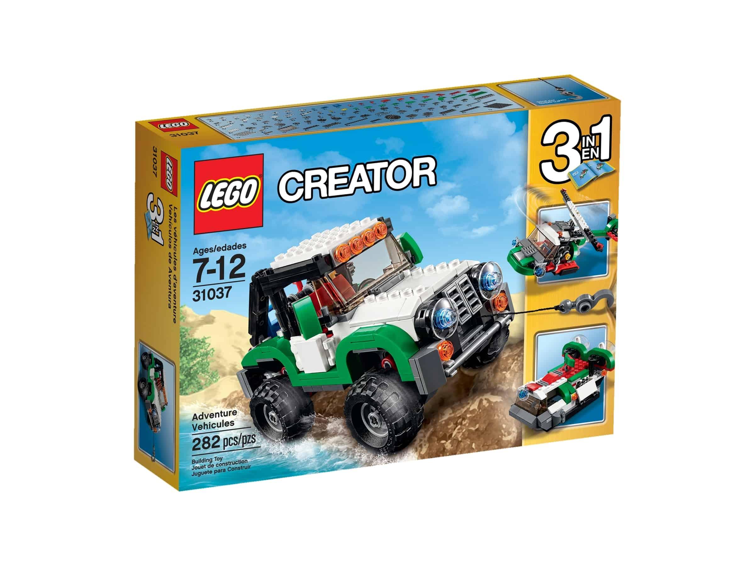 lego 31037 oppdagerkjoretoy