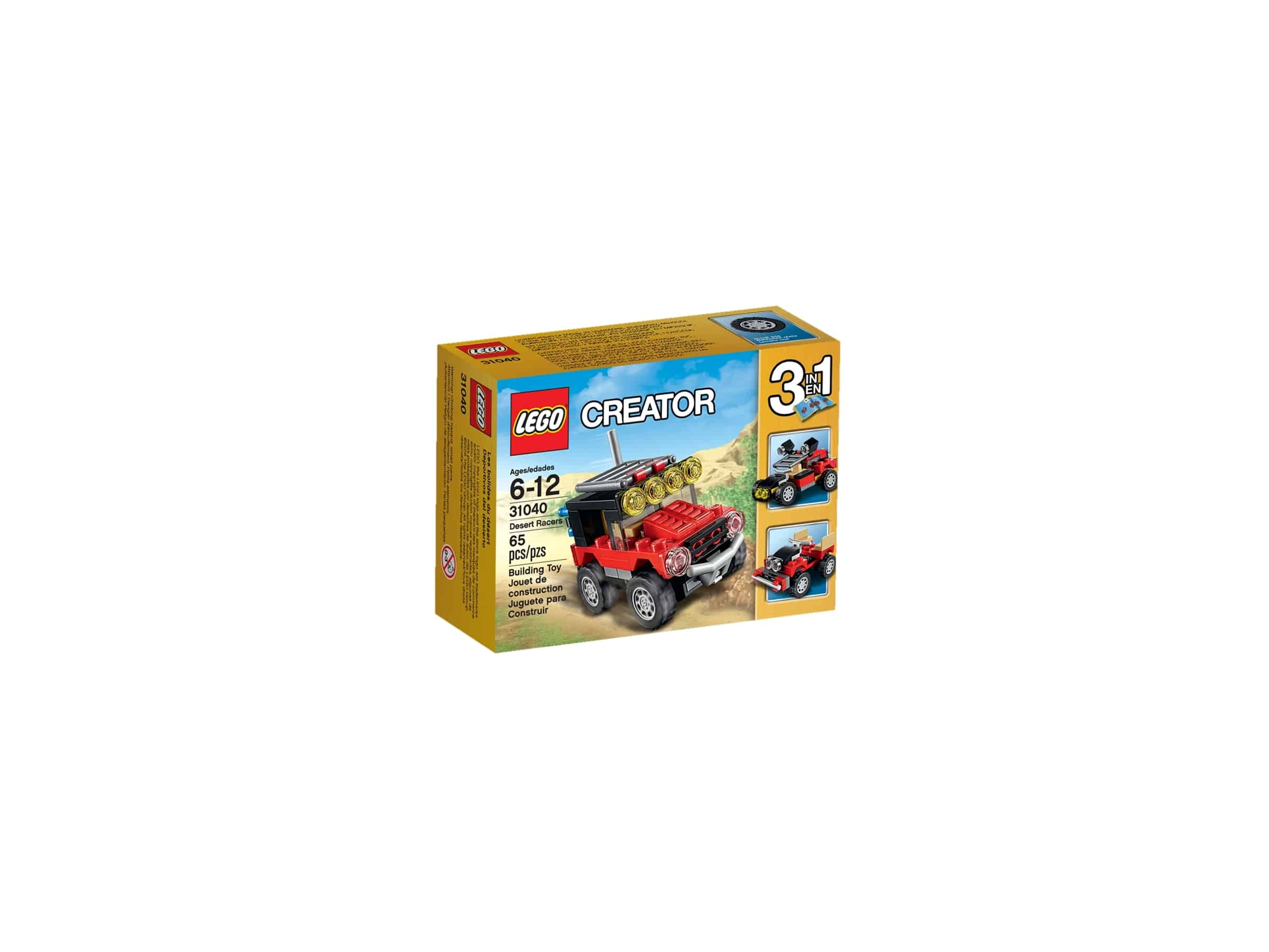 lego 31040 orkenracere