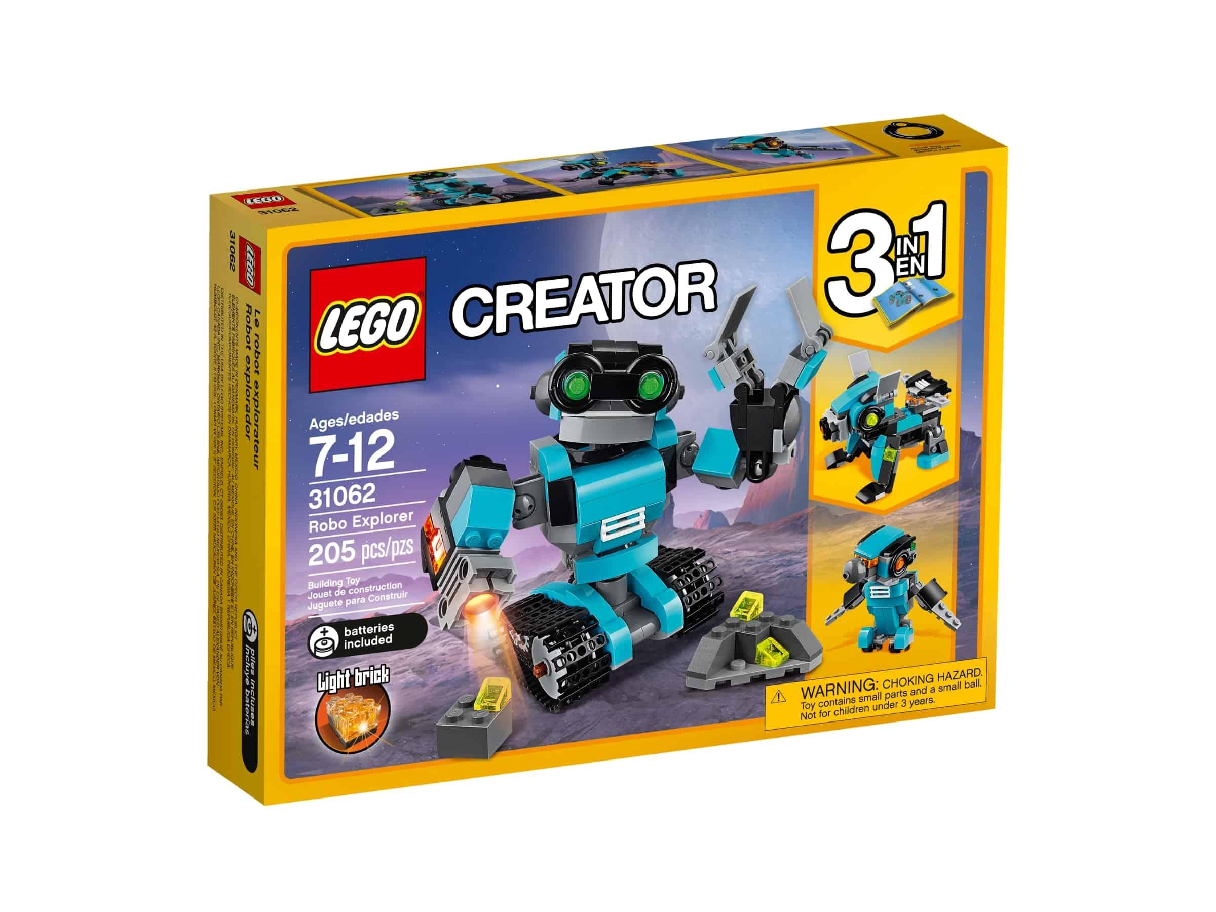 lego 31062 utforskerrobot