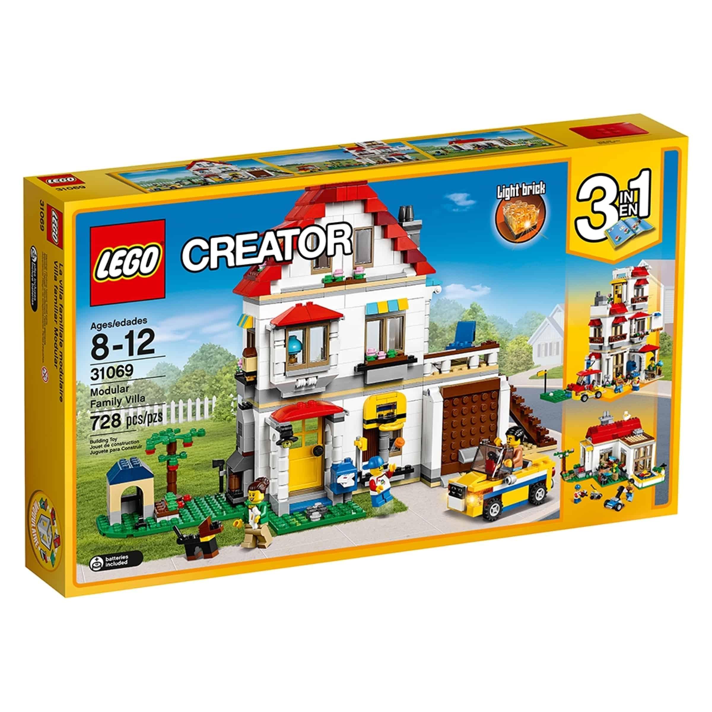 lego 31069 modulbasert familiehus