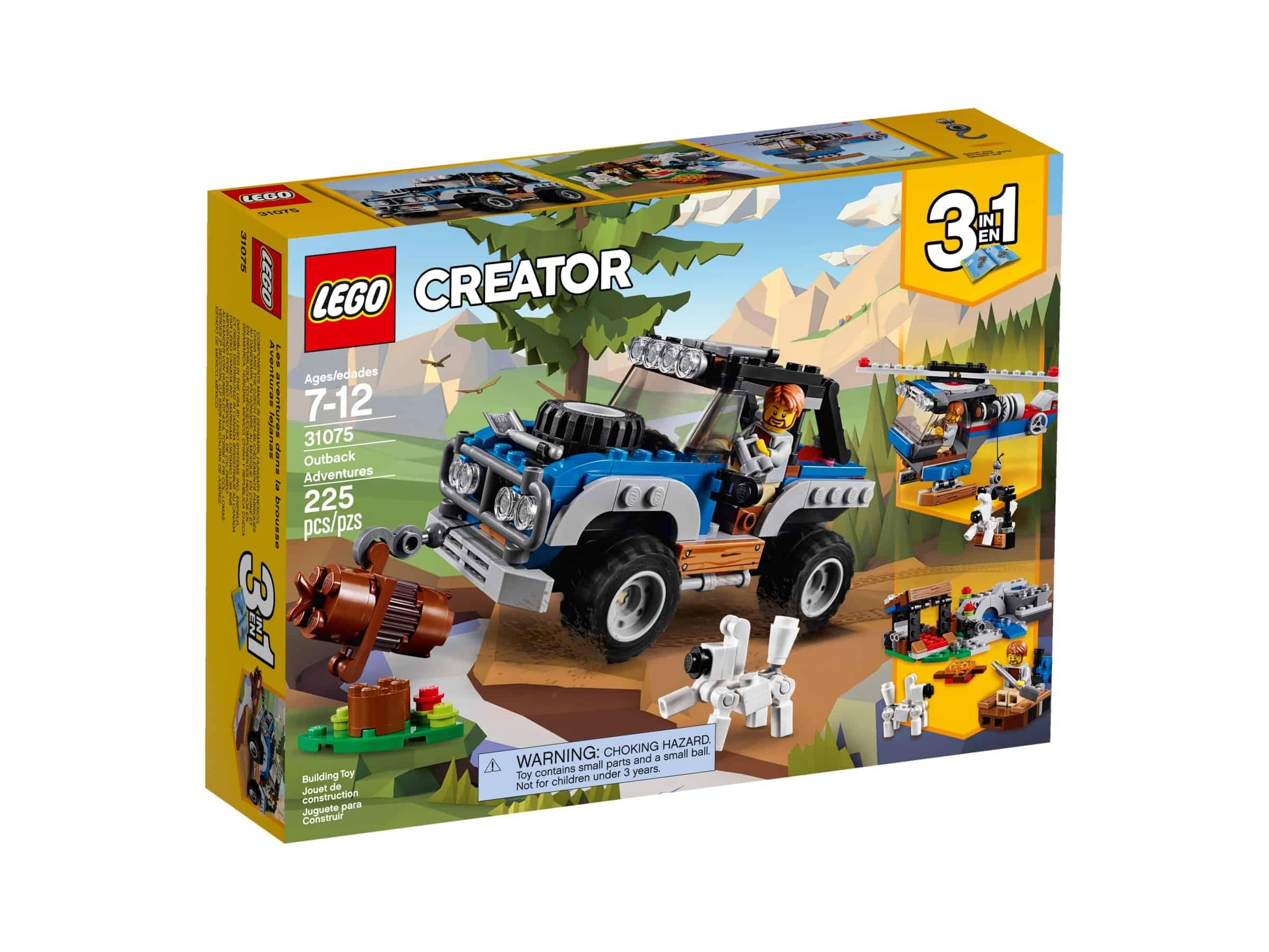 lego 31075 eventyr i villmarken