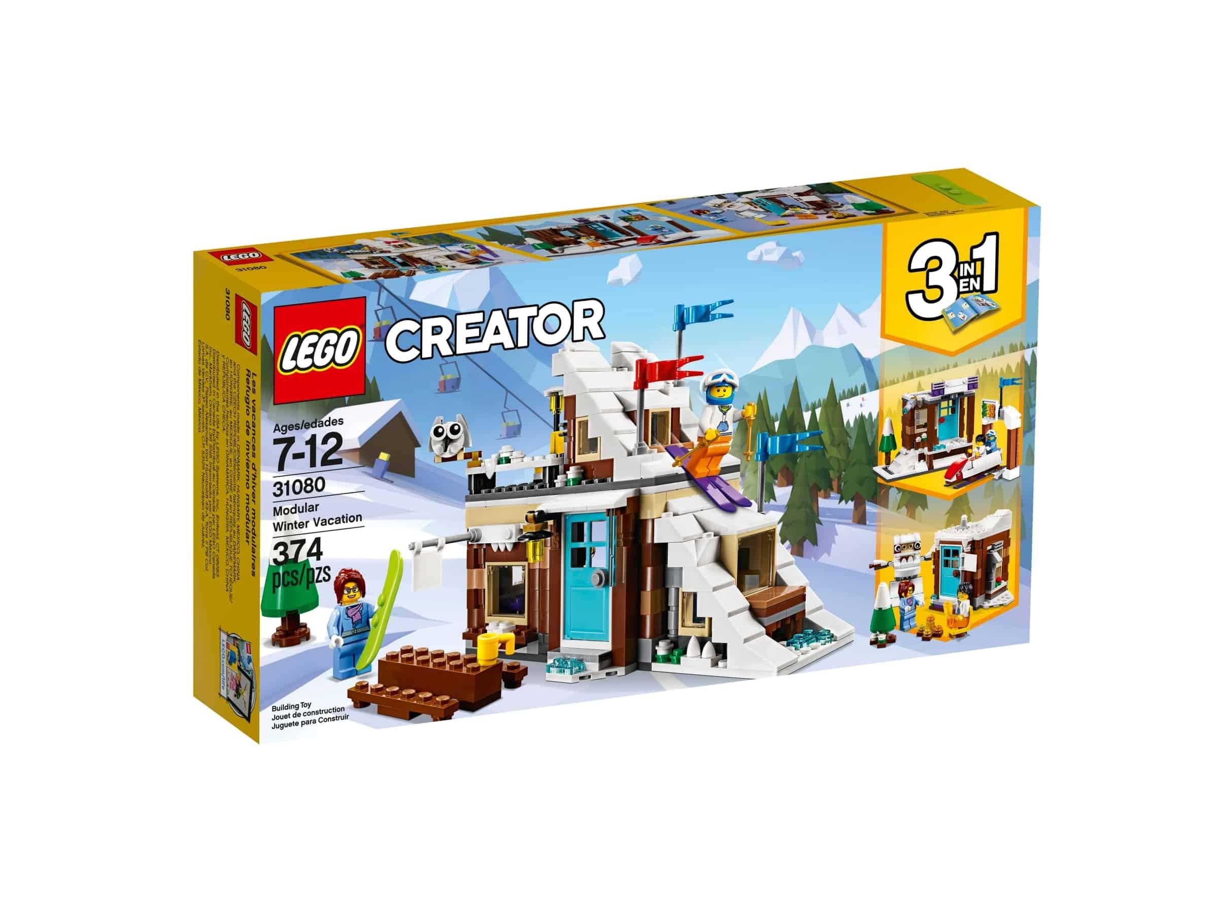 lego 31080 modulbasert vinterferiesett