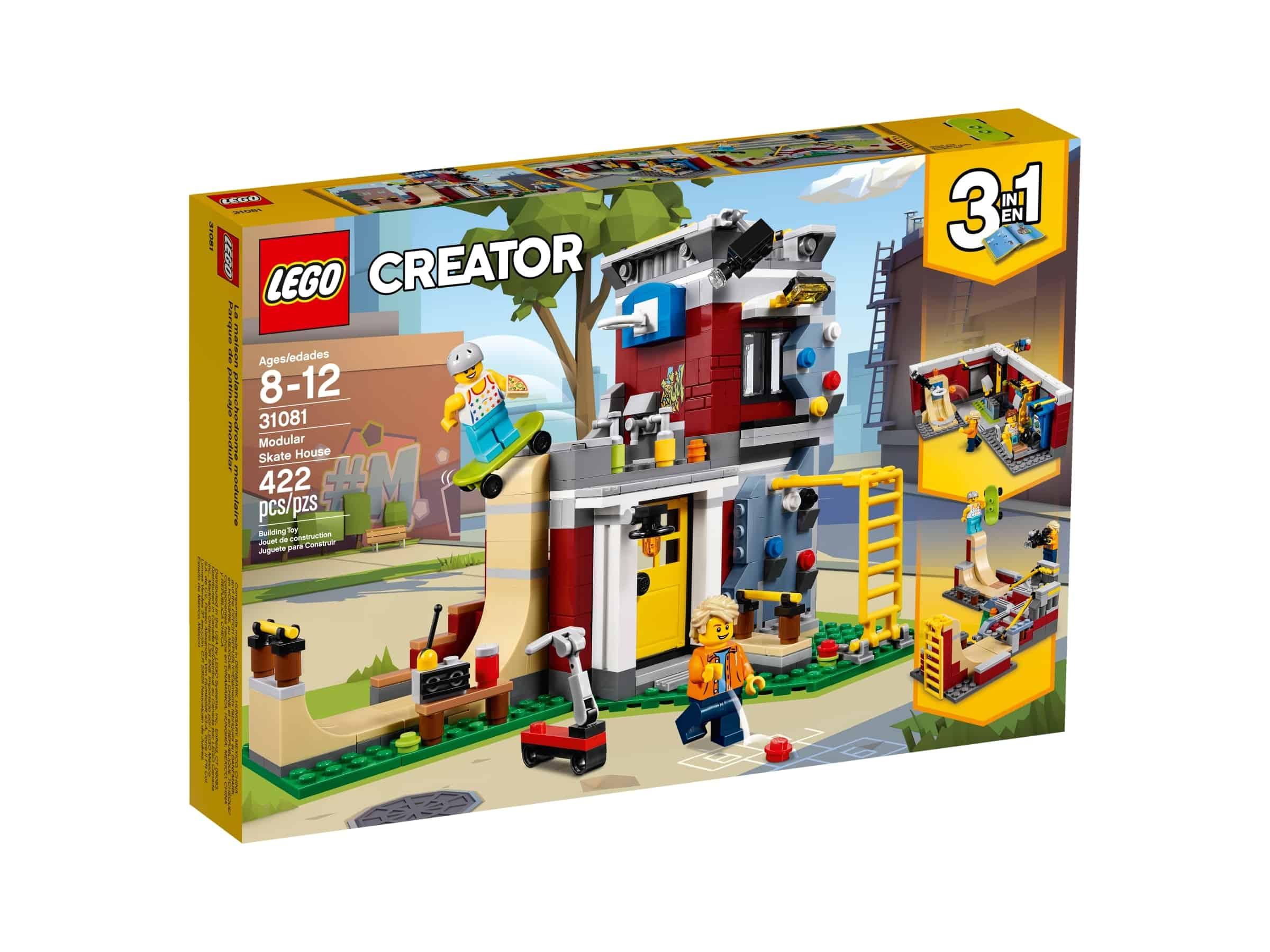 lego 31081 modulbasert skatehus