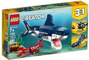 lego 31088 dypvannsskapninger