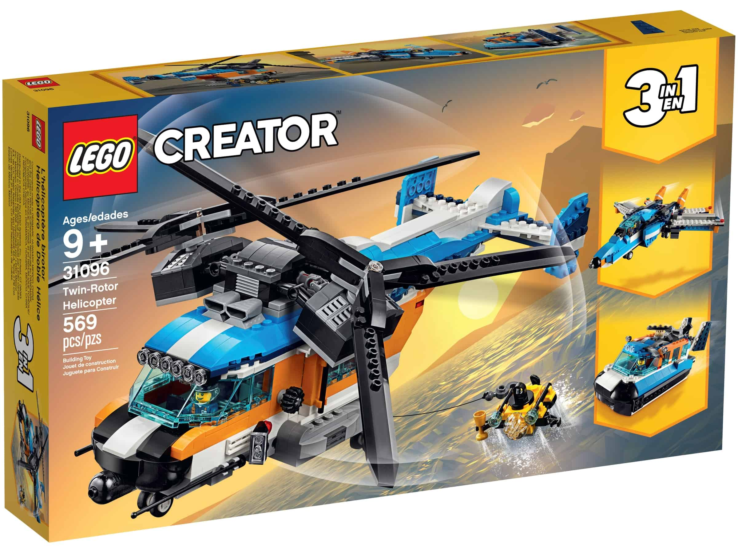 lego 31096 torotors helikopter