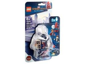 lego 40343 spider man og innbrudd i museet