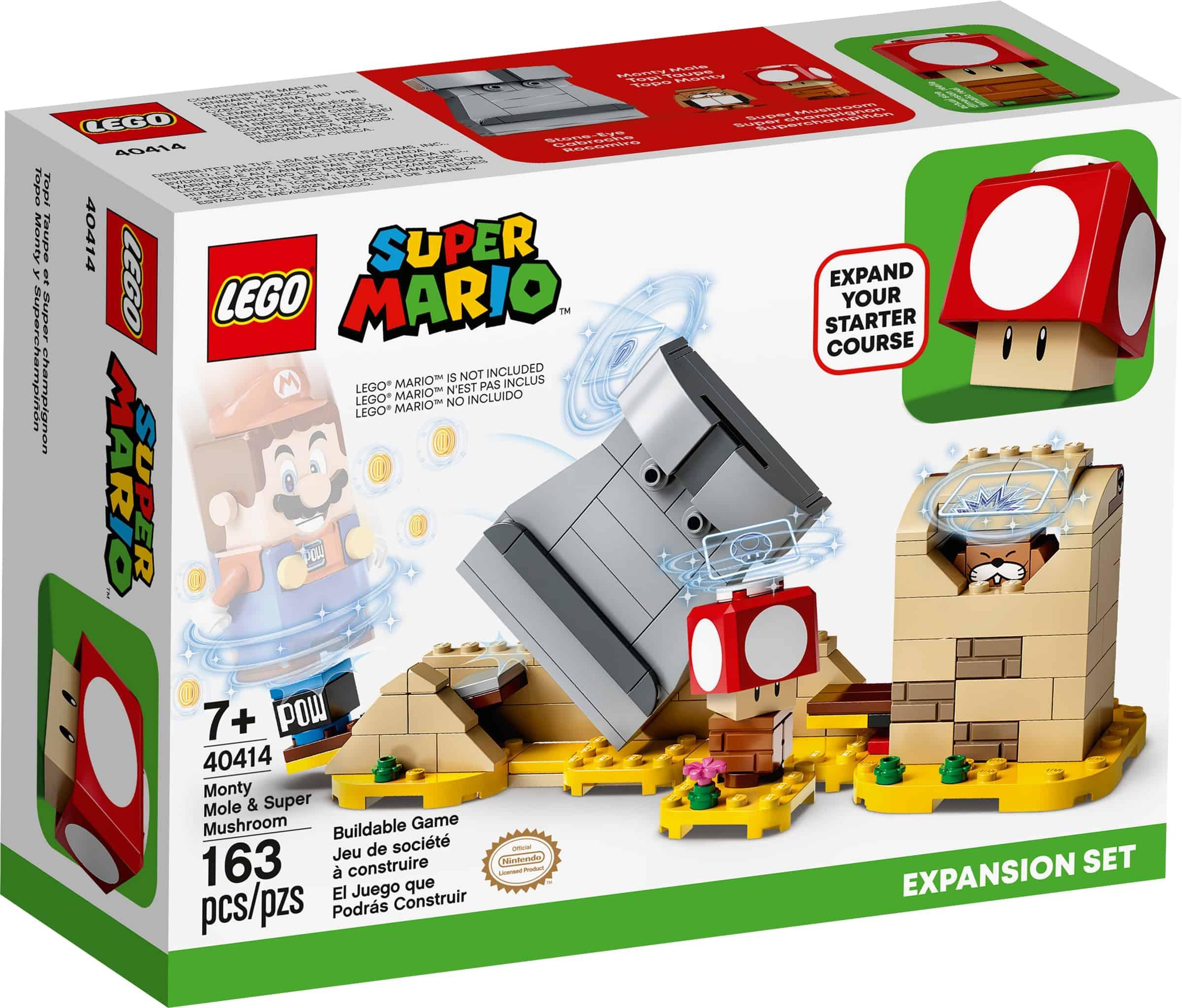 lego 40414 ekstrabanen muldvarpen monty og supersoppen
