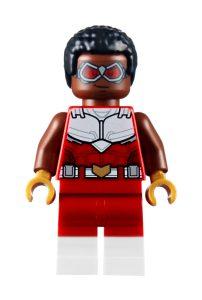 lego 40418 falcon og black widow samarbeider