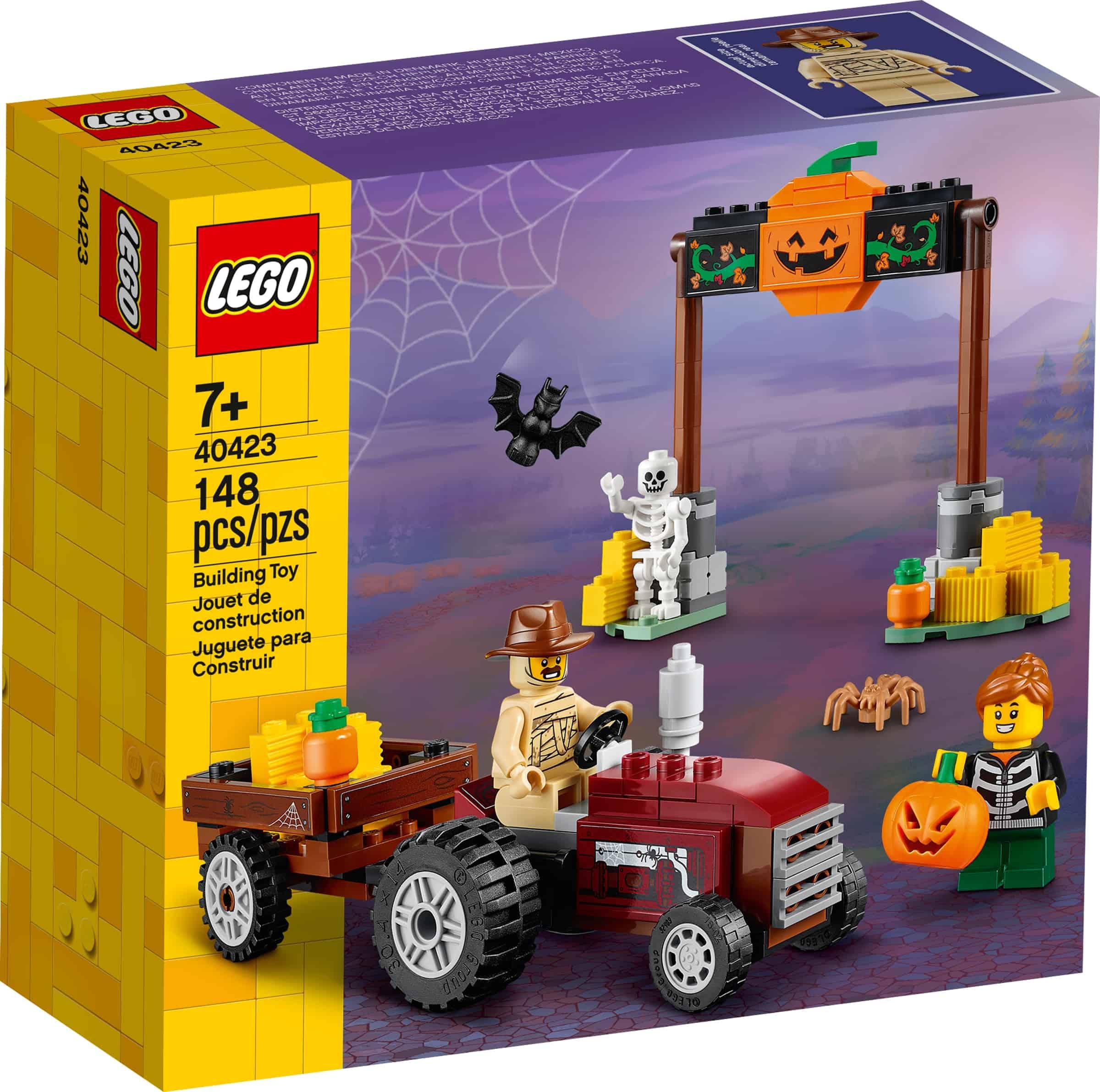 lego 40423 traktortur pa halloween