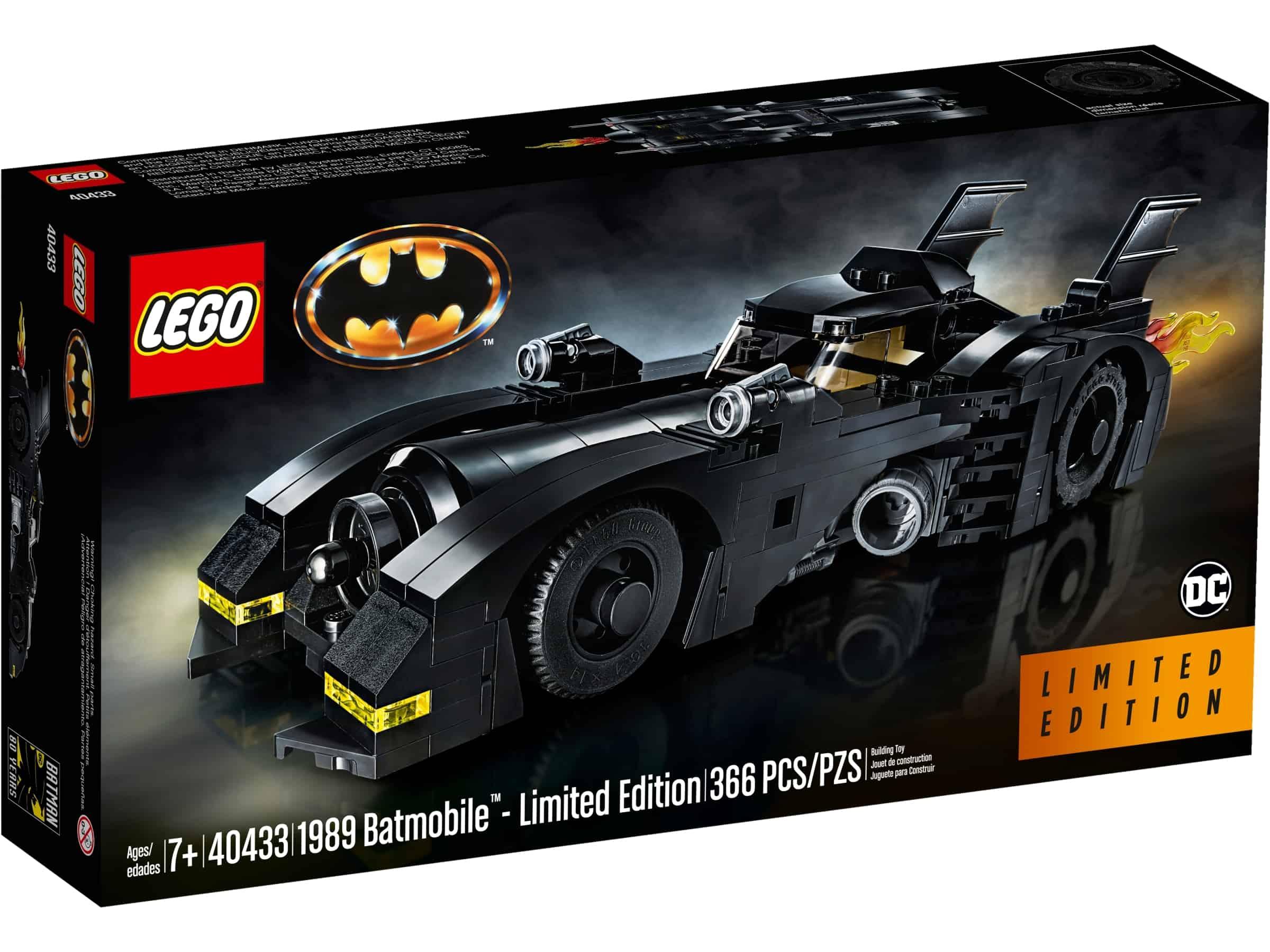 lego 40433 1989 batmobile begrenset antall