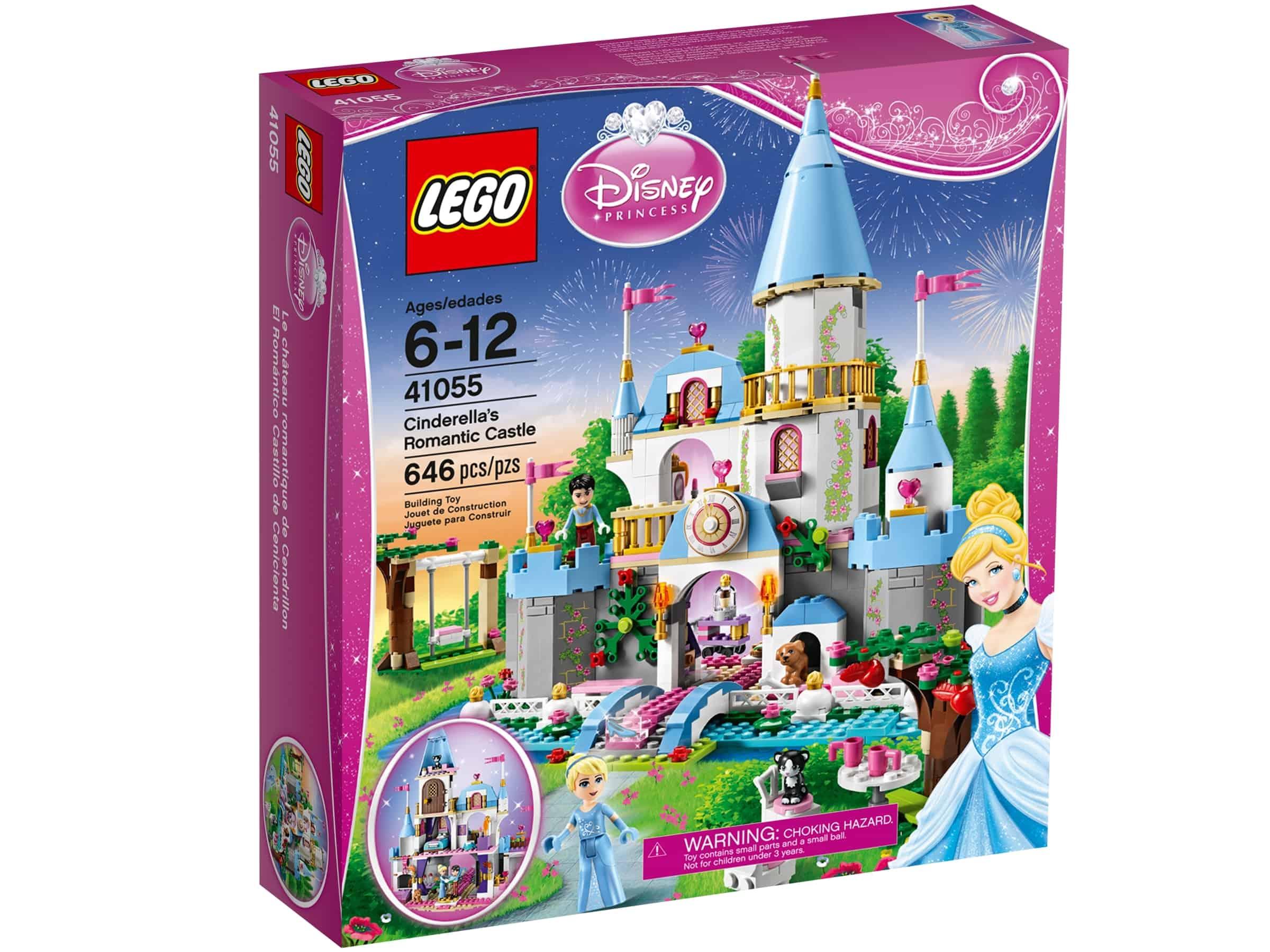 lego 41055 askepotts romantiske slott