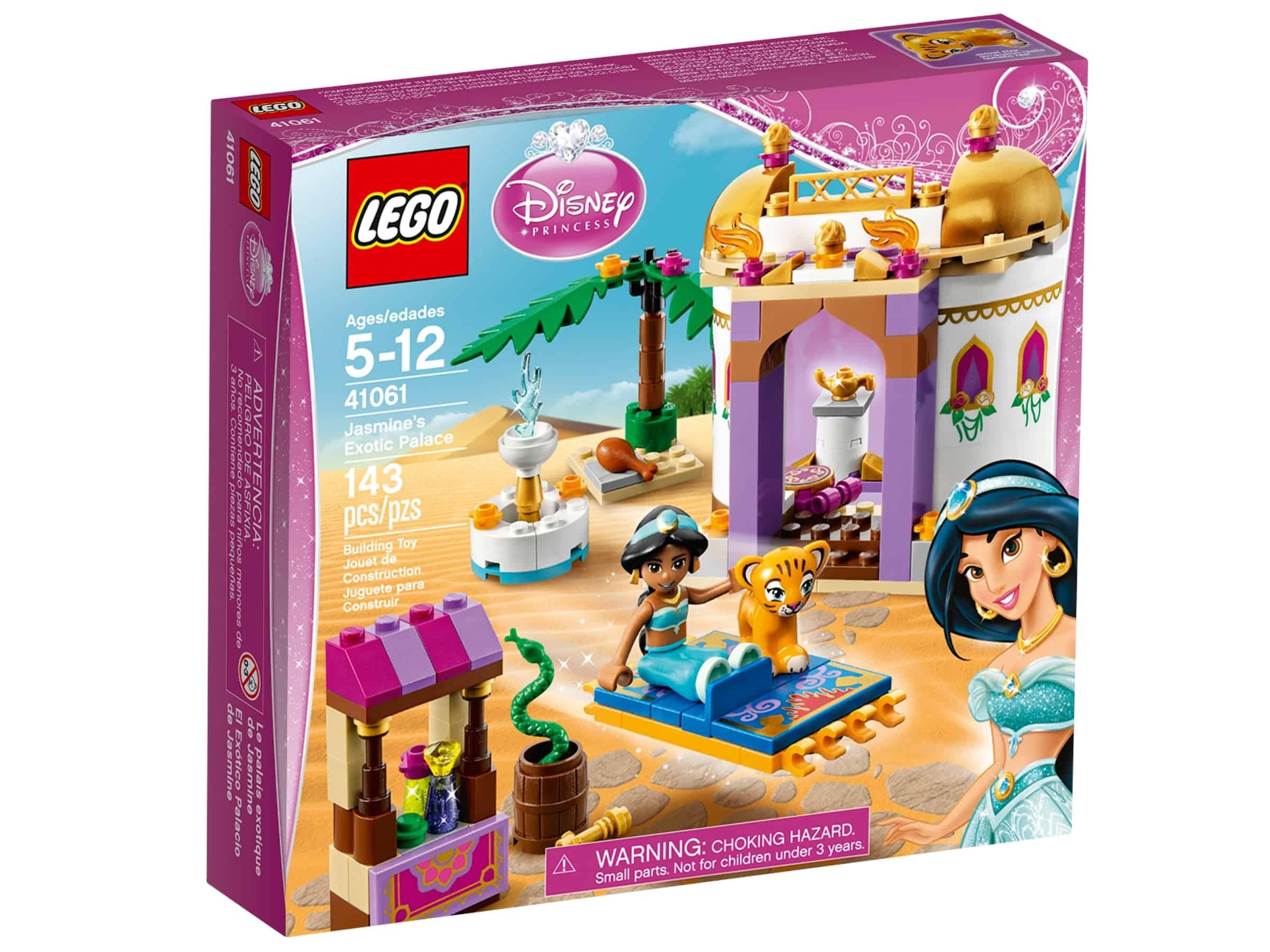 lego 41061 jasmins eksotiske palass