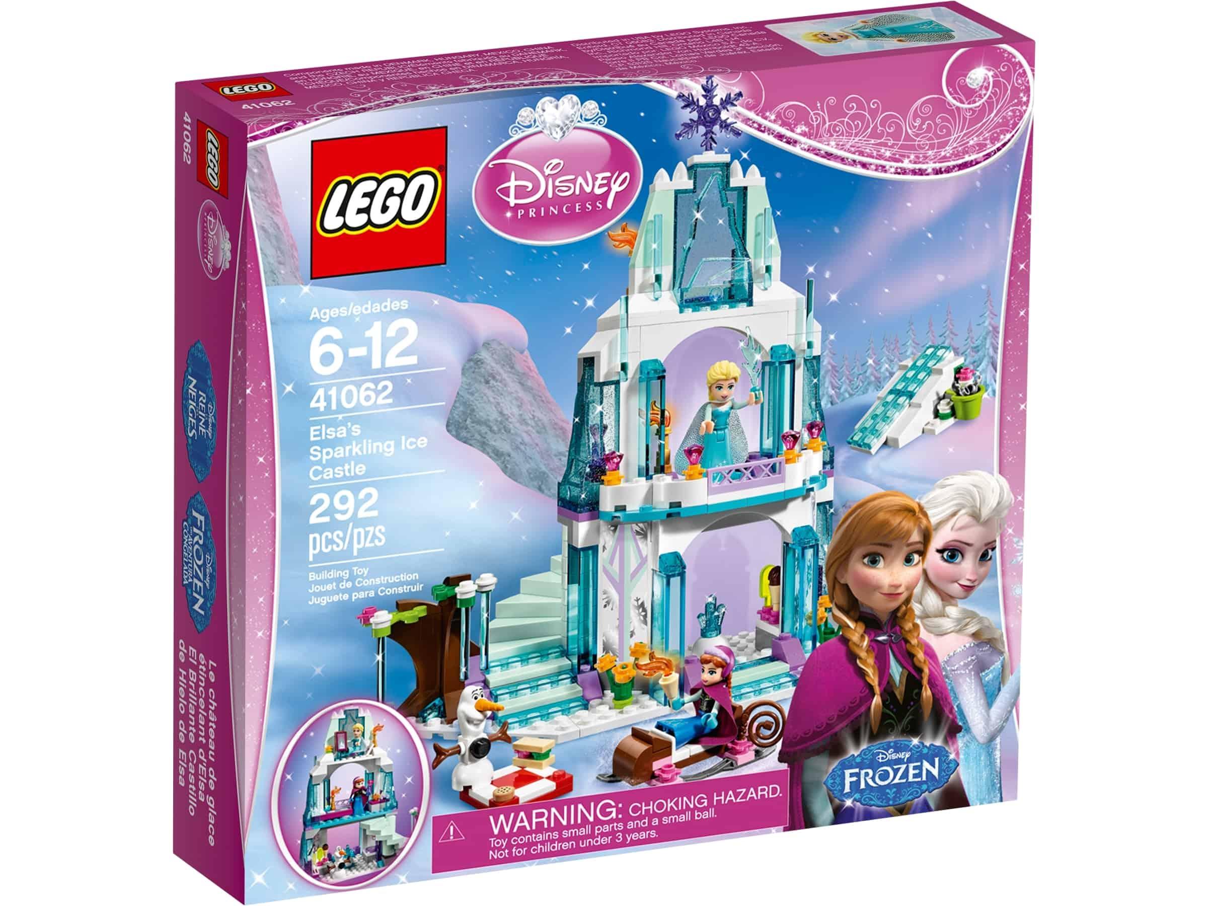 lego 41062 elsas skinnende isslott