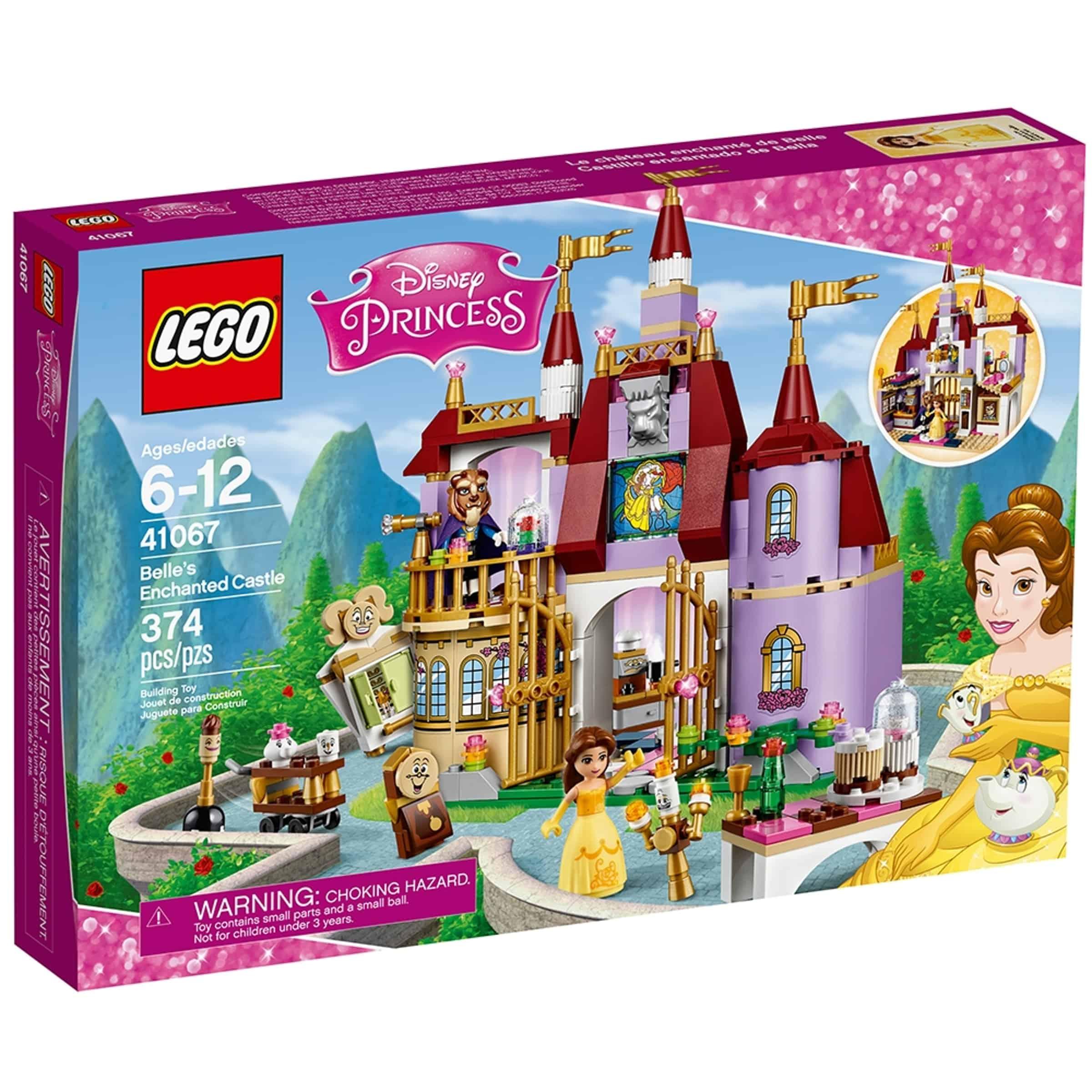 lego 41067 belles fortryllede slott