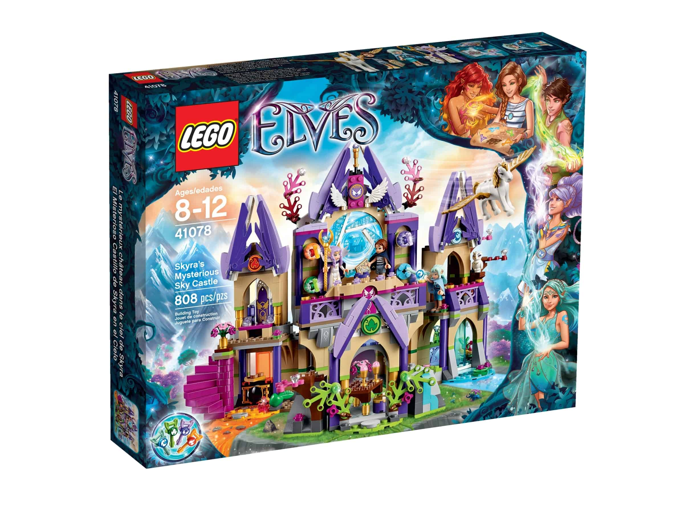 lego 41078 skyras mystiske sky castle