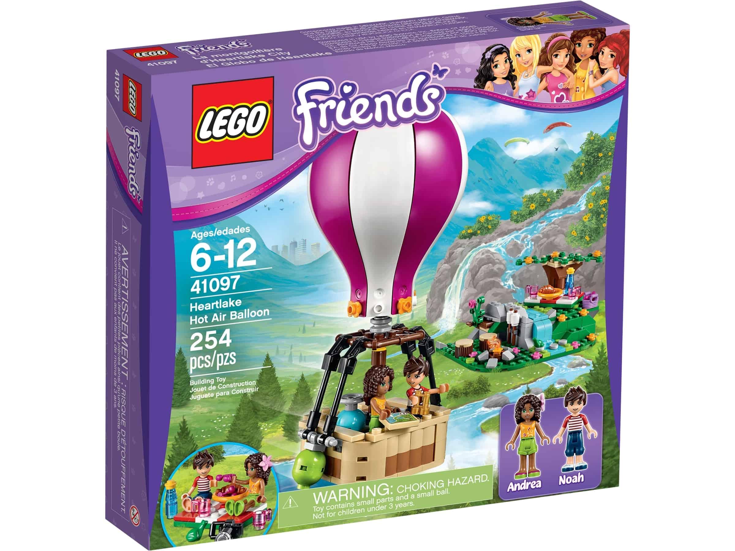 lego 41097 heartlakes varmluftballong