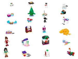 lego 41131 friends julekalender