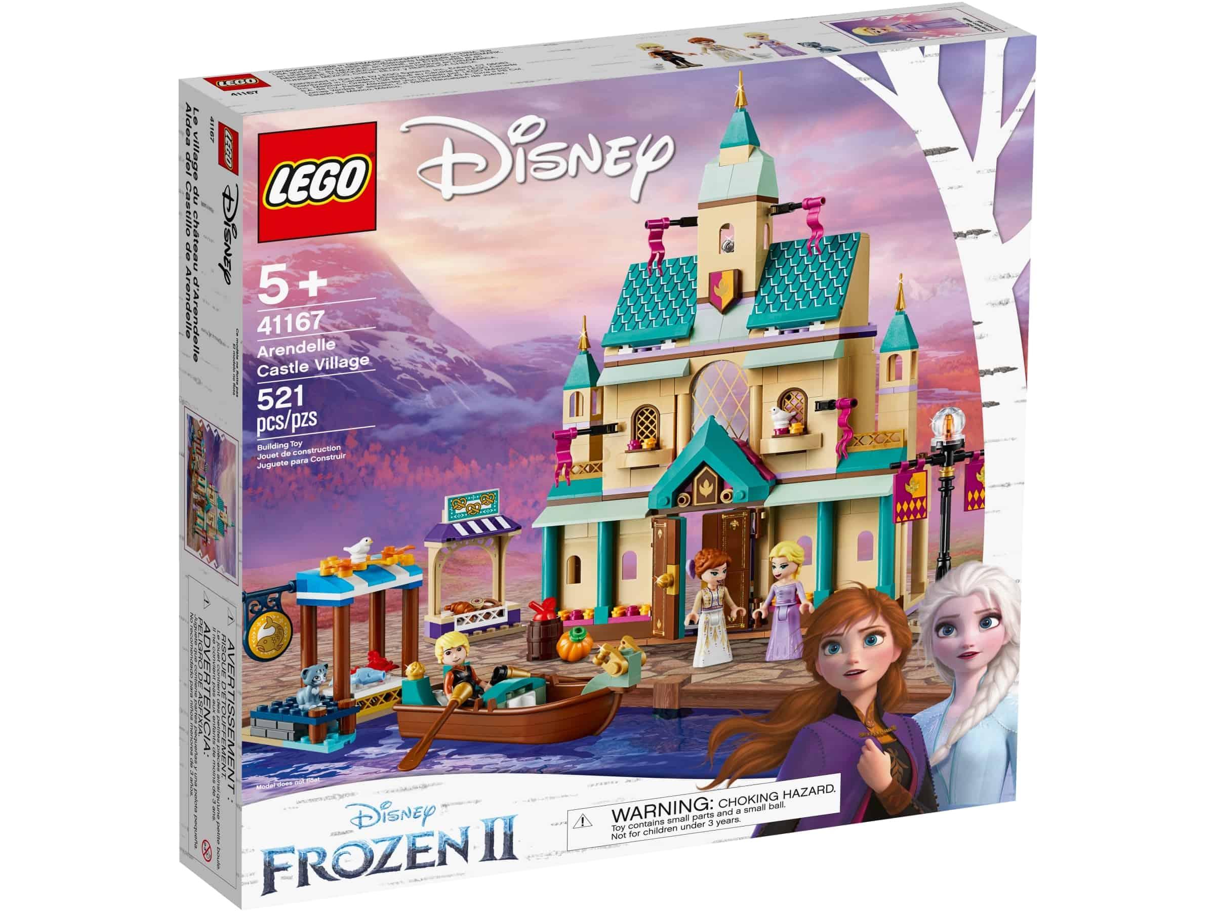 lego 41167 arendelle slottets landsby
