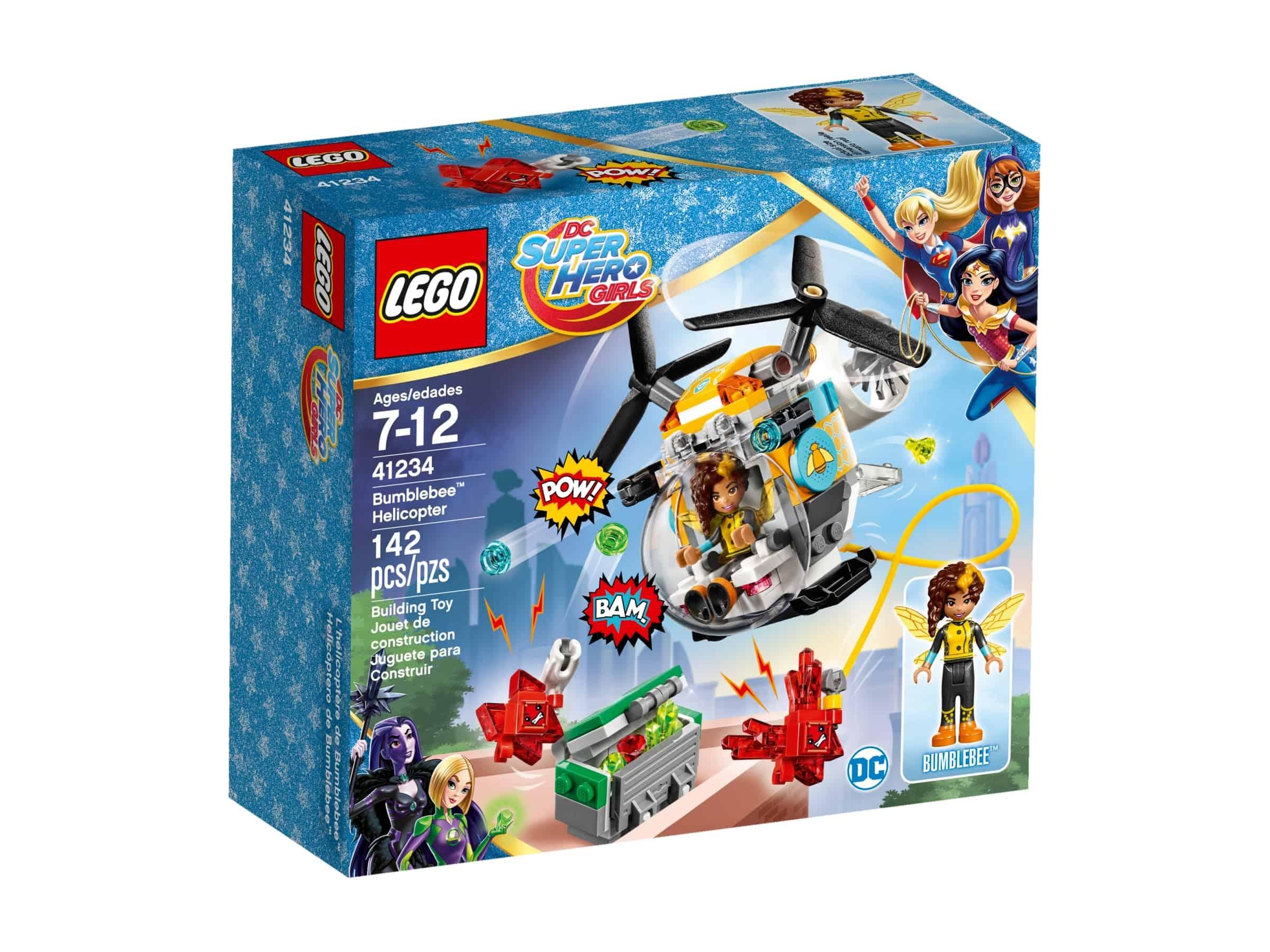 lego 41234 bumblebee med helikopter