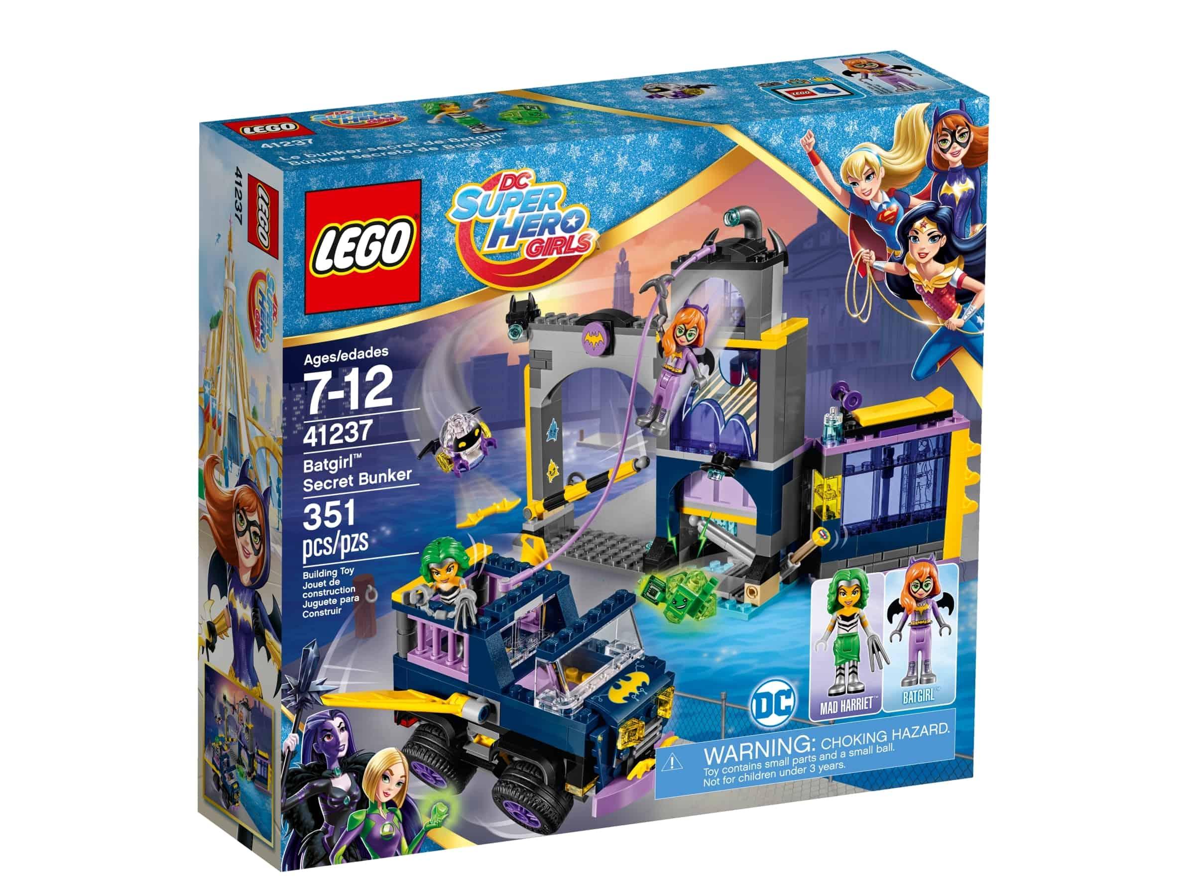 lego 41237 batgirls hemmelige bunker
