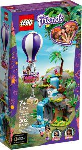 lego 41423 tigerredning med varmluftballong