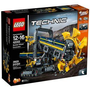 lego 42055 gravemaskin med skovlhjul