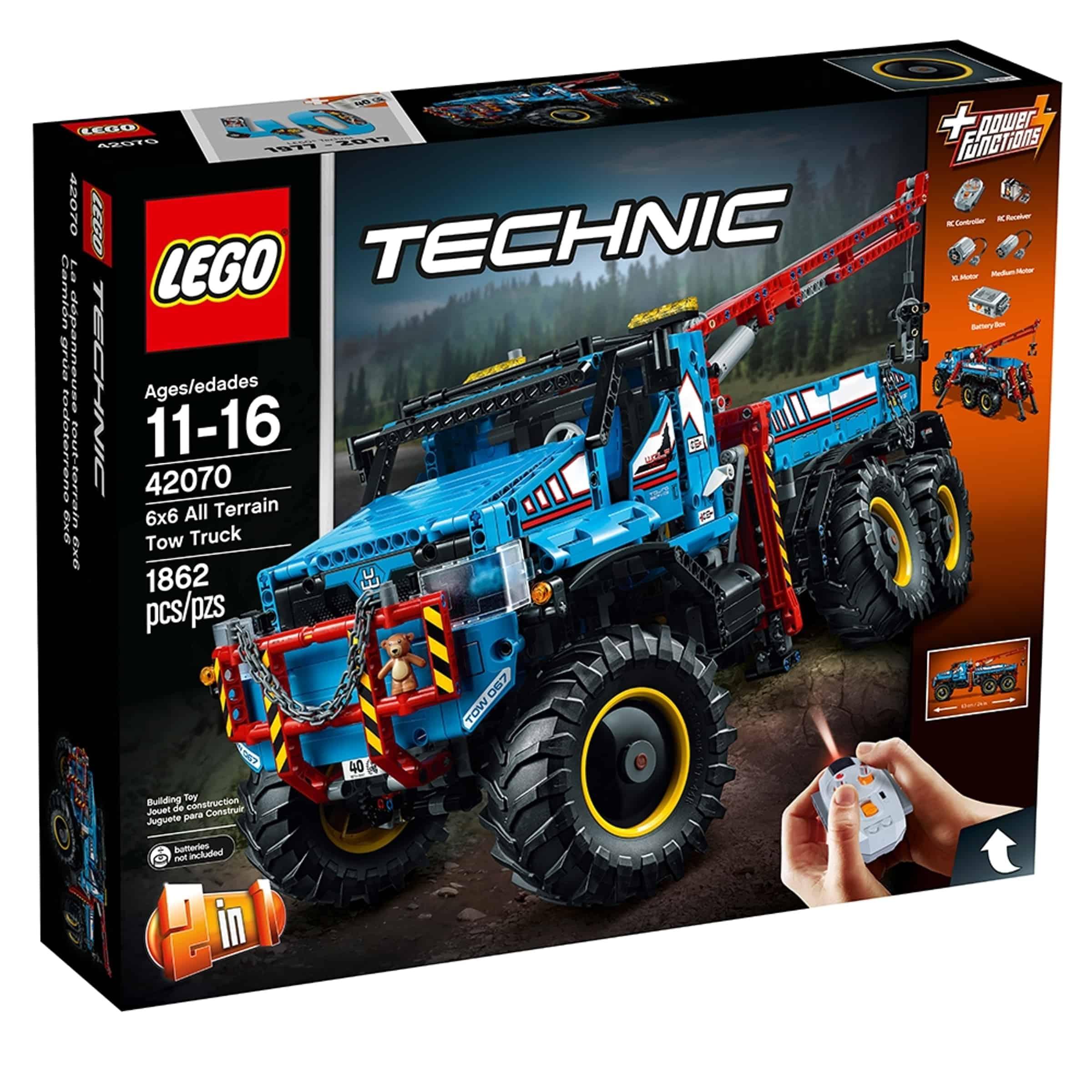 lego 42070 robust tauebil med 6 hjulsdrift