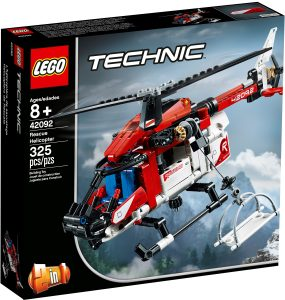 lego 42092 redningshelikopter