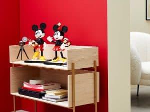 lego 43179 byggbare figurer av mikke mus og minni mus
