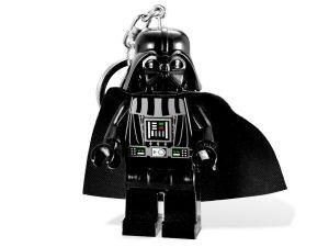 lego 5001159 sw darth vader nokkelring med lys